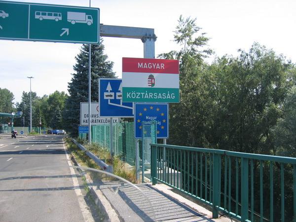 Frontera con Hungría