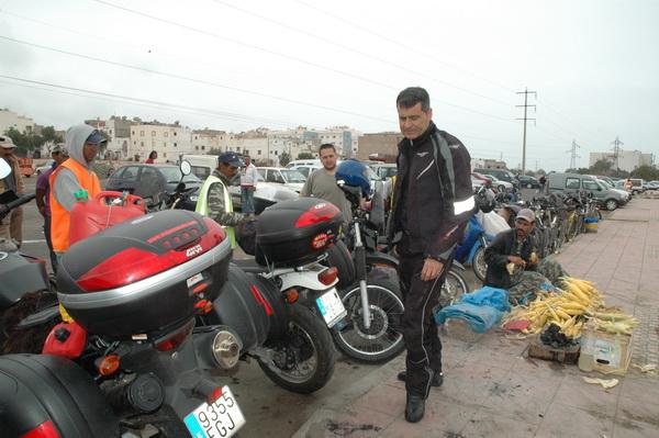 En el Zoco de Agadir
