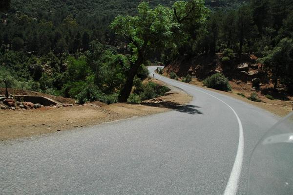 carretera al Col du Tichka
