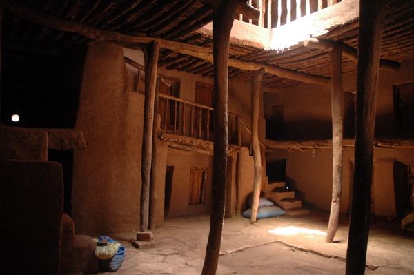 Interior de la Kasbah
