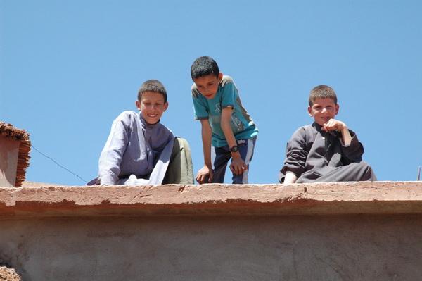 Niños de la Madrassa