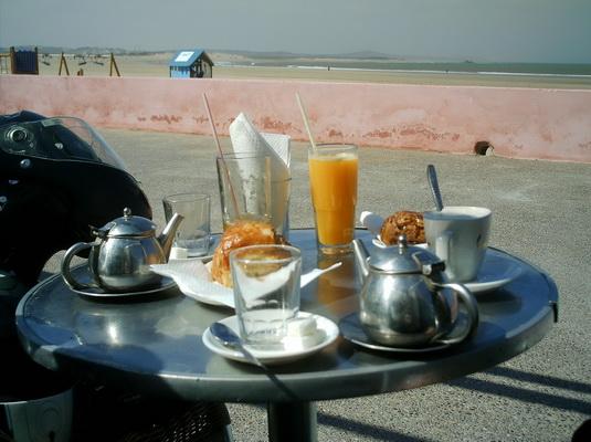 Desayuno en Essaouira