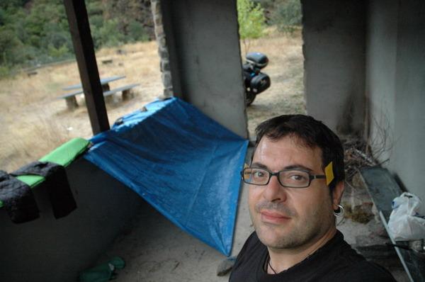 El campamento cobertizo