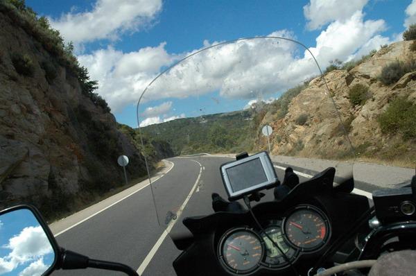 carretera a Castro Caldelas