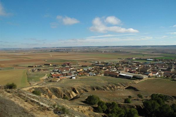 Vista de Tordehumos desde el Castillo