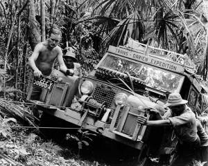 Land Rover en Darien Gap