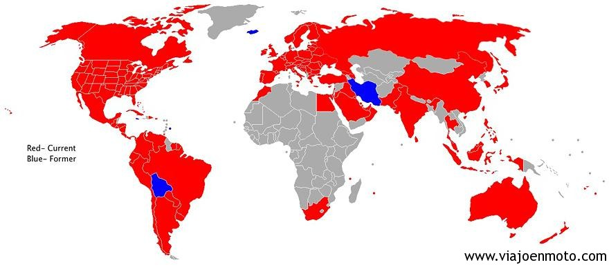Países donde hay McDonalds Image credits: imgur.com