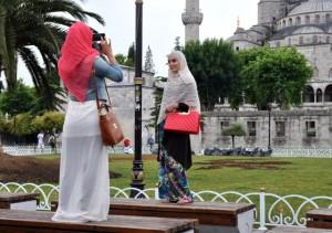 Chicas en Estambul