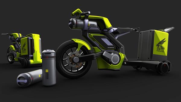 La moto de aire