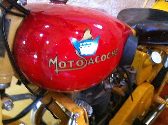 Motosacoche en el Museo de la Moto de Hervás