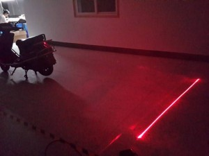Laser antiniebla