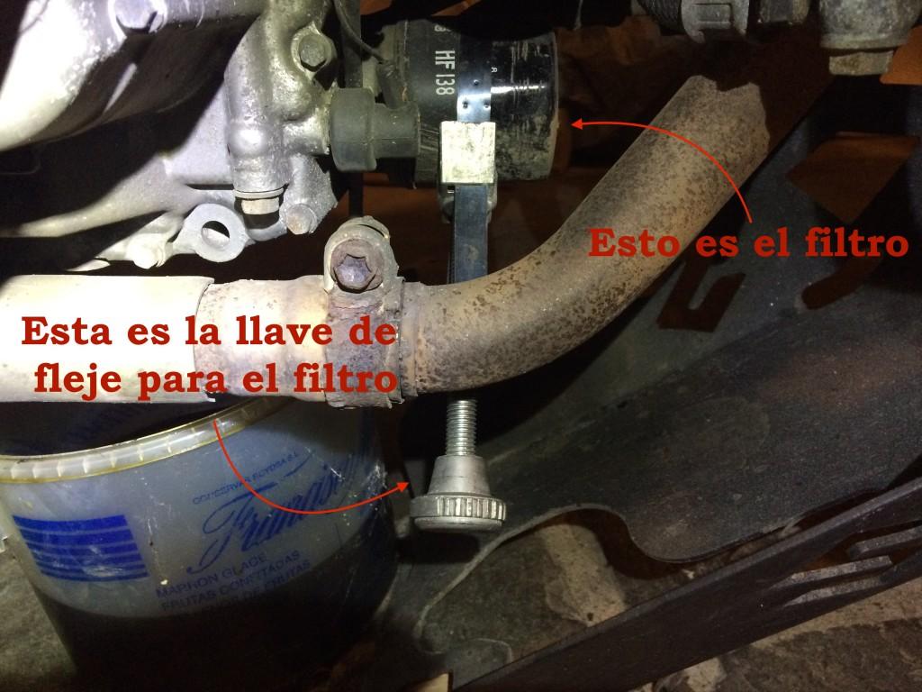 cambio filtro aceite