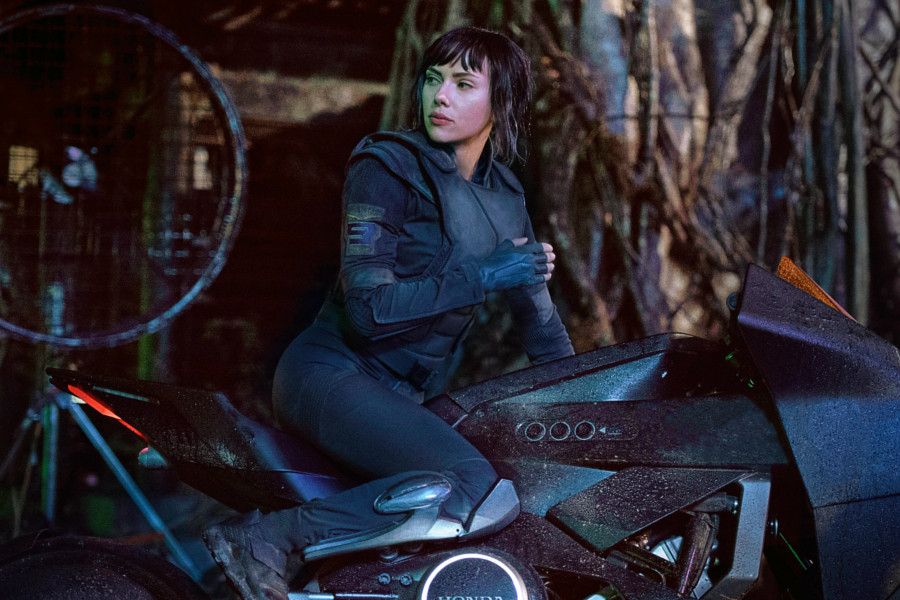 Scarlett en ghost in the shell