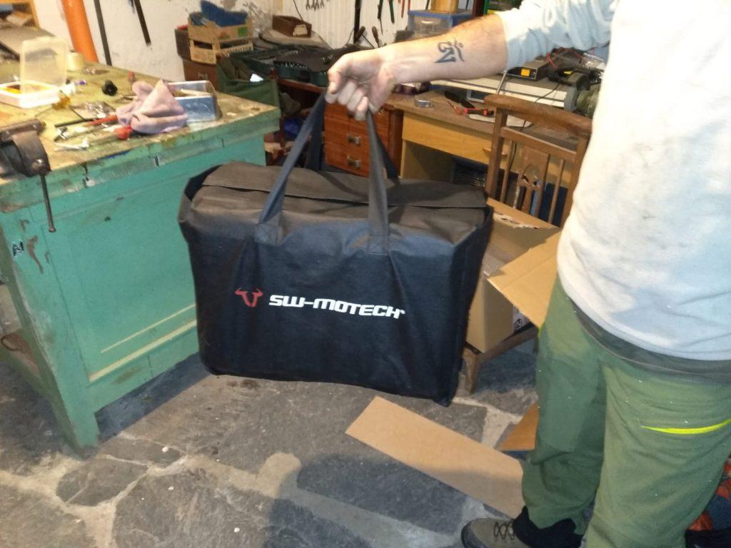 Impecable la presentación de las maletas de aluminio SW-Motech